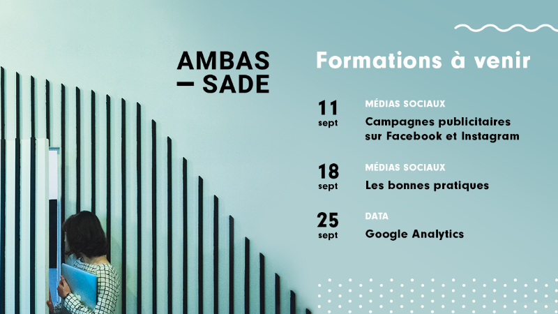 Ambassade | Formation Google Analytics